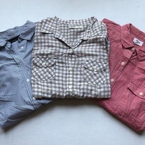 Bundle of 3 Button Down Shirts Size Medium